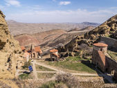 David Gareja, a rock-hewn Georgian Orthodox monastery complex — Foto de Stock
