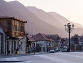 MTSKHETA, GEORGIA - MARCH 24: The center of Mtskheta on March 24, 2014. Mtskheta is the historical capital of Georgia located 20 km from Tbilisi — Stock Photo