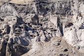 Město vardzia jeskyně-klášter — Stock fotografie