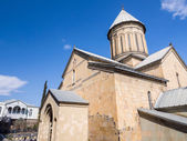 TBILISI, GEORGIA - MARCH 03, 2014: The Sioni Cathedral in Tbilisi, Georgia. The Cathedral was the main Georgian Orthodox Cathedral and the seat of Catholicos-Patriarc h of All Georgia until 2004 — Stock Photo