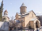 Tbilisi, georgia - 3 marzo 2014: la cattedrale di sioni a tbilisi, georgia. la cattedrale era la principale cattedrale ortodossa georgiana e la sede del catholicos-patriarc h di tutta la georgia fino al 2004 — Foto Stock