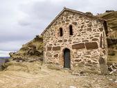 David Gareja - a rock-hewn Georgian Orthodox monastery — Stock Photo