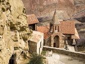 David Gareja, a rock-hewn Georgian Orthodox monastery — Stock Photo