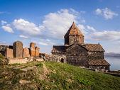 Sevanavank monastic complex in Armenia — Stock Photo