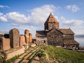 Sevanavank monastic complex in Armenia — Stock Photo