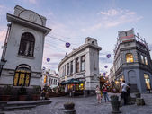 Jan Shardeni and Bambis Rigi streets — Fotografia Stock