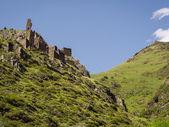 Ruins of Mutso village in Khevsureti region — Photo