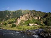 Shatili village in Upper Khevsureti — Stock Photo
