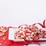 Valentines cookies — Stock Photo #46246261