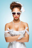 Pin-up gangsta. — Stock Photo