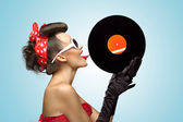 The vinyl desire. — Stock Photo