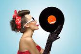 The vinyl desire. — Stock Photo