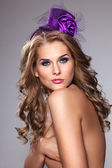 Pretty violet. — Stock Photo
