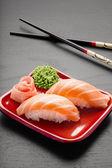 Yummy salmon. — Stock Photo