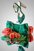 Veg fashion. — Stock Photo