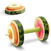 Fruits for sports. — Zdjęcie stockowe