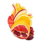 Fruity heart. — Stock Photo