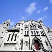 Basilika sacre-coeur in montmartre — Stockfoto