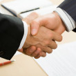 Business agreement — Stock Photo #44652155