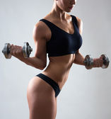 Fitness woman. — Stock Photo