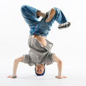 Modern dancer — Stock Photo