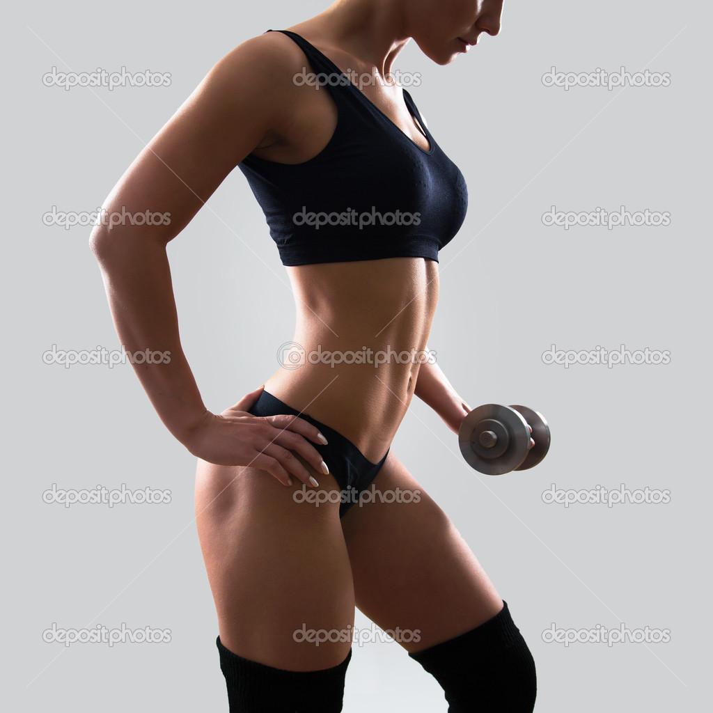 Mujer fitness — Fotos de Stock © chagin #44734563