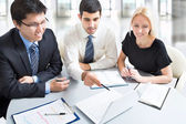 A business team — Stock Photo