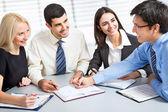 Business team working — Stok fotoğraf