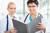 Team di medici — Foto Stock