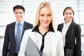 Groep van mensen uit het bedrijfsleven — Stockfoto