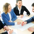 Business team discussing plan — Stock Photo #44750727