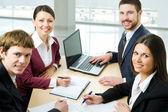 Businessleute — Stockfoto