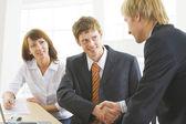 Making business agreement — Stok fotoğraf