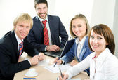 Business team — Foto Stock