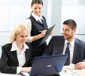 Business people in the office — Stock Photo