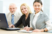 Successful businesspeople, — Stock Photo