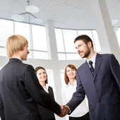 Business meeting — Stock Photo