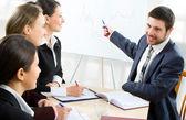 Reunião de negócios — Fotografia Stock