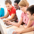 Young students studying — Stock Photo #44797589