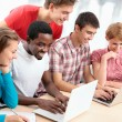 Young students studying — Stock Photo #44797599