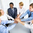 Business team showing unity — Stock Photo #44798749