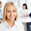 Portrait of attractive business woman — Stock Photo #44799121