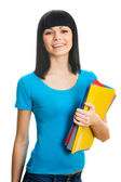 Nice female student — Foto de Stock