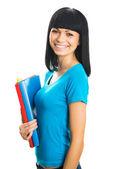 Nice female student — Stock Photo