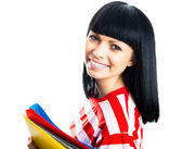 Nice female student — Stockfoto