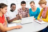 International group of students — Stock Photo