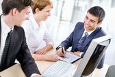 Business people in office — Stock Photo