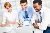 Businesspeople working — Stok fotoğraf