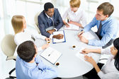 Business people working together — Stock Photo