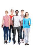 Group of international students — Stock Photo